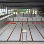 Equipements mobiles pour piscines technox for Piscine mur mobile